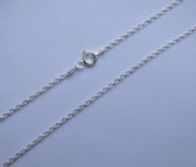 "22""/56cm 1.65mm Sterling Silver Prince of Wales Chain"